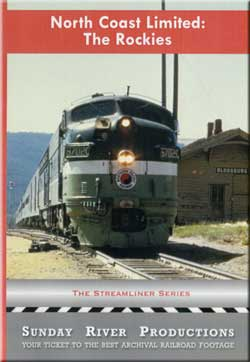 North Coast Limited: The Rockies Sunday River Productions DVD-NCLR