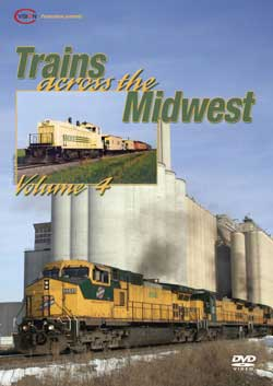 Trains Across the Midwest Vol 4 - CVision C Vision Productions TAM4DVD