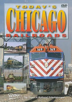 Todays Chicago Railroads DVD Train Video Pentrex TCR-DVD 748268004735