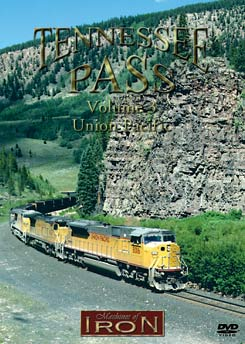 Tennessee Pass Vol 3 on DVD by Machines of Iron Machines of Iron TENN3DR