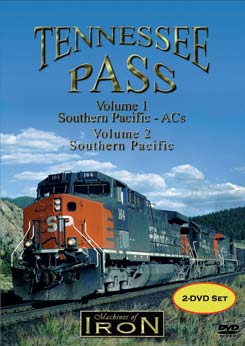 Tennessee Pass 2 DVD Set Vols 1 & 2 on DVD by Machines of Iron Machines of Iron TENNSETDR