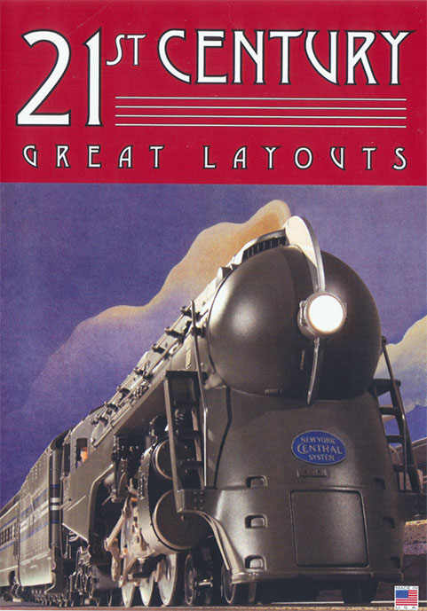 21st Century Great Layouts DVD Train Video TM Books and Video CENTL 780484000436