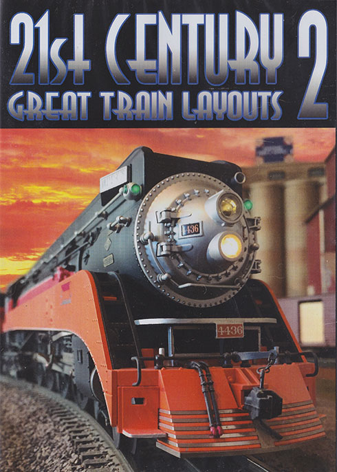 21st Century Great Train Layouts Volume 2 DVD Train Video TM Books and Video CENTL2 780484000481