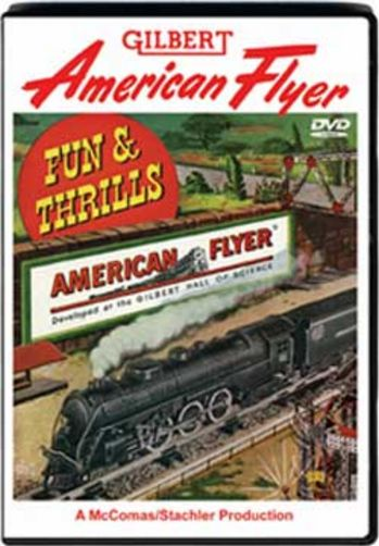 Fun and Thrills with American Flyer S Gauge Parts 1 and 2 TM Books and Video AFDVD 780484635577