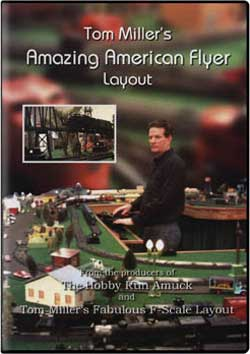 Tom Millers Amazing American Flyer Layout Train Video Pacific Vista AMAZING
