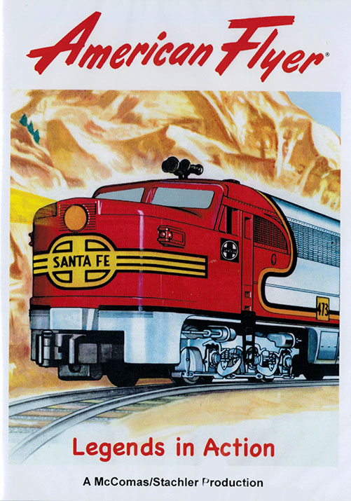 American Flyer Legends in Action Train Video TM Books and Video AF2 780484000450