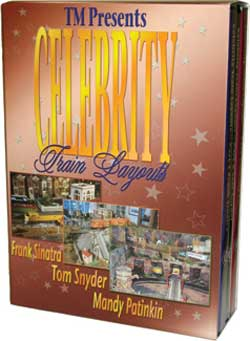 Celebrity Train Layouts: Frank Sinatra - Tom Snyder - Mandy Patinkin Train Video TM Books and Video CELBOX 780484535709