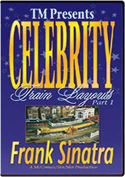 Celebrity Train Layouts Part 1 Frank Sinatra Train Video TM Books and Video CELDFS 780484633832