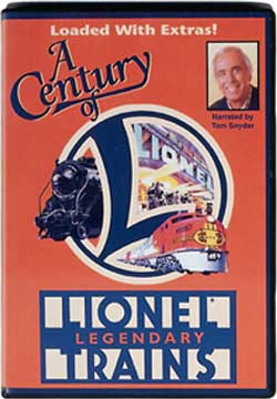 A Century of Lionel: Lionel Legendary Trains Train Video TM Books and Video CENDVD 780484631135