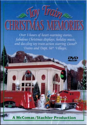 Toy Train Christmas Memories DVD Train Video TM Books and Video CHMEMDVD 780484634235