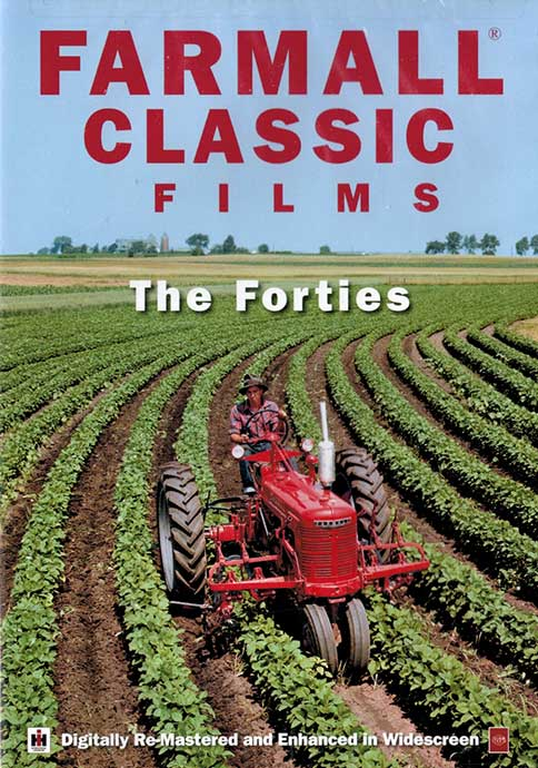Farmall Classic Films - The Fourties DVD Train Video TM Books and Video FARMALL3 780484000054