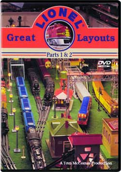 Great Lionel Layouts Parts 1 and 2 TM Books and Video GLLDVD 780484634938