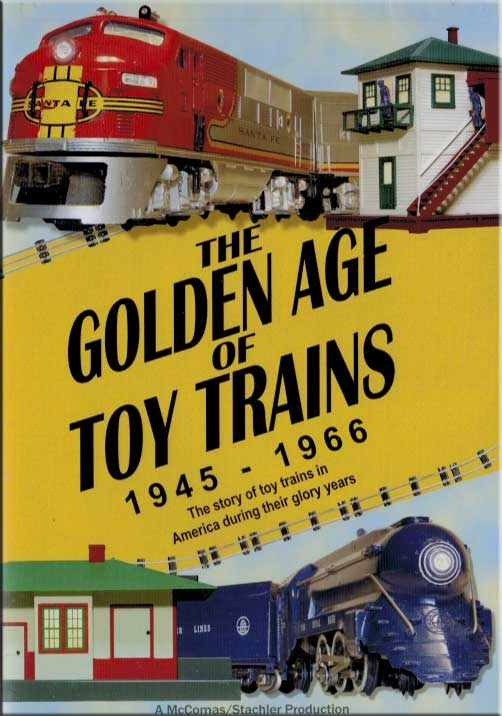 Golden Age of Toy Trains 1945-1966 DVD TM Books and Video GOLDEN 780484961812