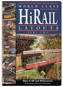 World Class HiRail Layouts Part 2 DVD Train Video TM Books and Video HIRAIL2 780484961362