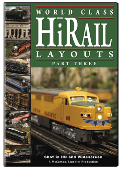 World Class HiRail Layouts Part 3 DVD TM Books and Video HIRAIL3 780484961584