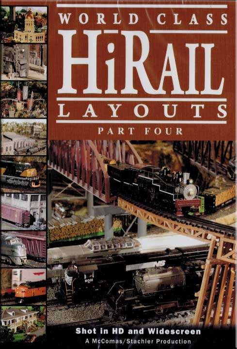 World Class Hirail Laouts Part 4 DVD TM Books and Video HIRAIL4 780484961737