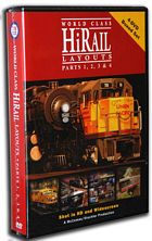 World Class HiRail Layouts Parts 1 2 3 & 4 4 Disc Box Set