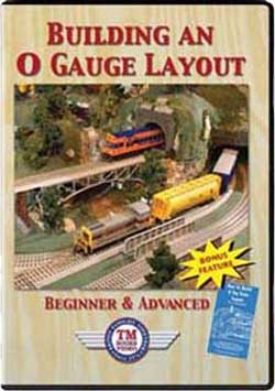Building an O Gauge Layout Beginner and Advanced TM Books and Video HOW2 780484535952