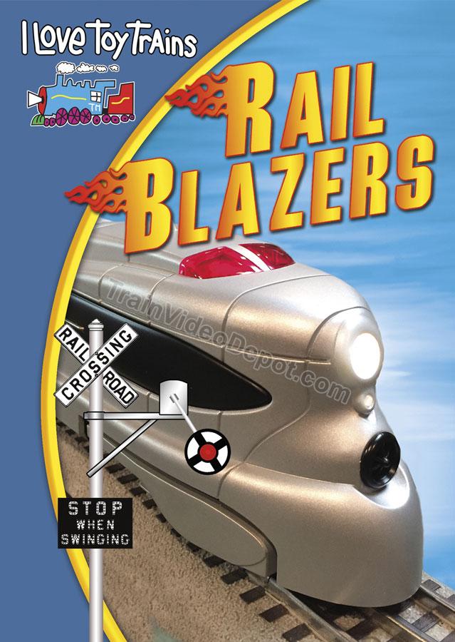 I Love Toy Trains Rail Blazers DVD Train Video TM Books and Video ILRAIL 780484000474