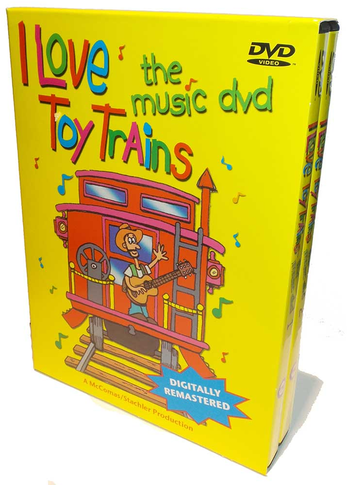 I Love Toy Trains The Music DVD Train Video TM Books and Video MUDVD 780484535723