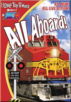 I Love Toy Trains - All Aboard! DVD Train Video TM Books and Video ILALL 780484961287