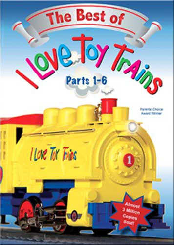 Best of I Love Toy Trains Parts 1-6 DVD Train Video TM Books and Video ILBEST1 780484961706