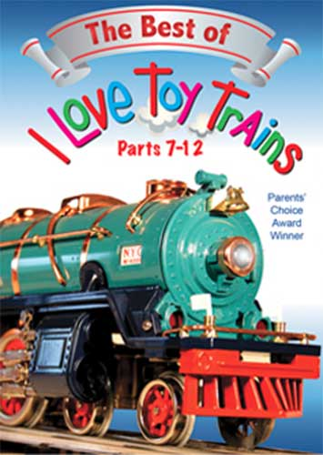 Best of I Love Toy Trains Parts 7-12 DVD Train Video TM Books and Video ILBEST2 780484961713