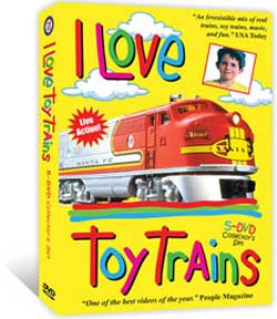 I Love Toy Trains 5 DVD Boxed Set Complete Series 1-Final Train Video TM Books and Video ILDVDBOX 780484535969