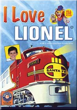 I Love Lionel DVD Train Video TM Books and Video ILLD 780484635812
