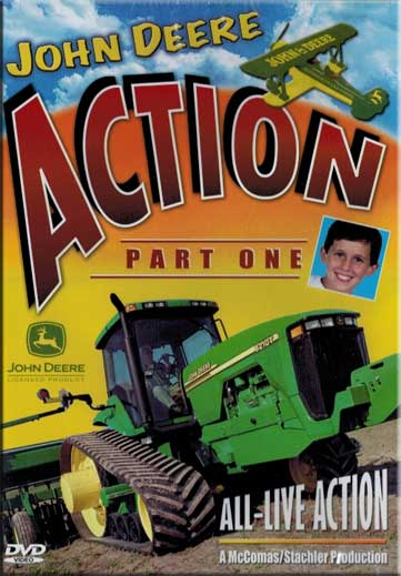 John Deere Action 1 DVD Train Video TM Books and Video JDACTION1 780484536058