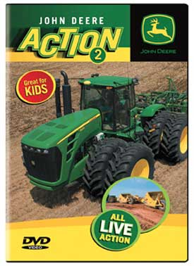 John Deere Action 2 DVD Train Video TM Books and Video JDACTION2 780484635751