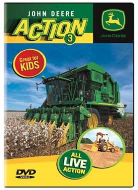 John Deere Action 3 DVD Train Video TM Books and Video JDACTION3 780484961416