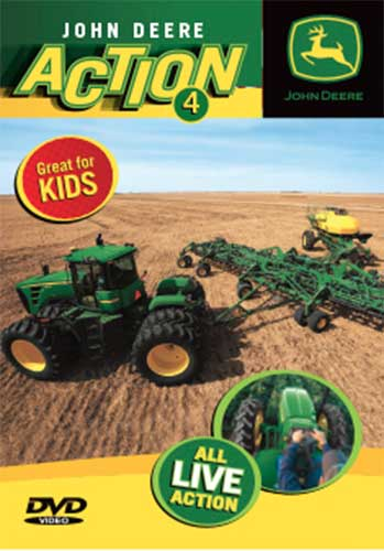 John Deere Action 4 DVD Train Video TM Books and Video JDACTION4 780484961683