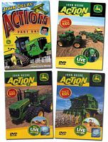 John Deere Action 4 DVD Collection Vols 1 - 4
