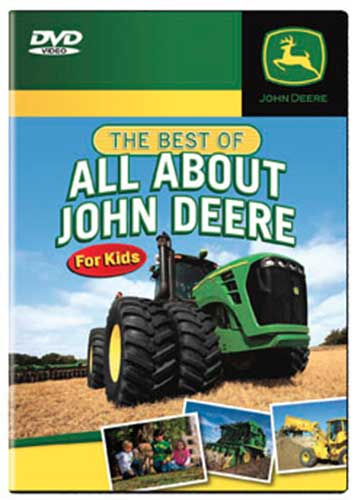 Best of All About John Deere For Kids DVD TM Books and Video JDBEST 780484961515