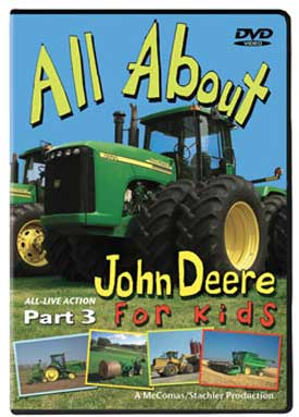 All About John Deere for Kids Part 3 DVD Train Video TM Books and Video JDDVD3 780484535686
