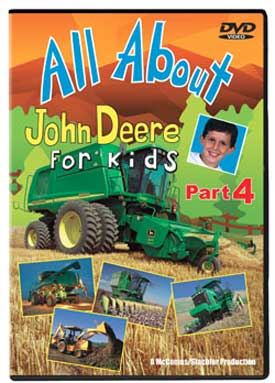 All About John Deere for Kids Part 4 DVD Train Video TM Books and Video JDDVD4 780484535921