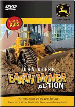 John Deere Earth Mover Action DVD Train Video TM Books and Video JDEARTH 780484635768