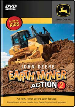 John Deere Earth Mover Volume 2 DVD Train Video TM Books and Video JDEARTH2 780484961614