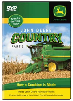 John Deere Country Part 1 DVD How a Combine is Made Train Video TM Books and Video JDFACT1 780484635690
