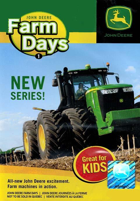 John Deere Farm Days Part 1 DVD Train Video TM Books and Video JDFARM 780484000085