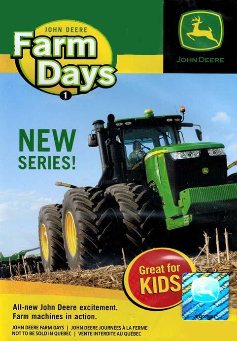 John Deere Farm Days Part 1 DVD TM Books and Video JDFARM 780484000085