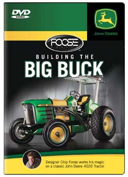 Building the Big Buck Chip Foose 4020 John Deere Tractor DVD Train Video TM Books and Video JDFOOSE 780484970005