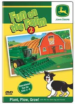 John Deere Fun on the Farm Part 2 DVD TM Books and Video JDFUN2 780484961317