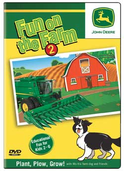 John Deere Fun on the Farm Part 2 DVD Train Video TM Books and Video JDFUN2 780484961317