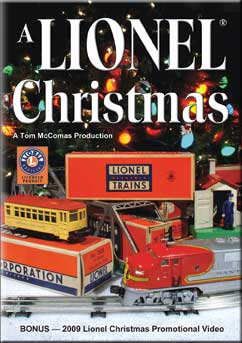 A Lionel Christmas DVD Train Video TM Books and Video LCHRD 780484635805
