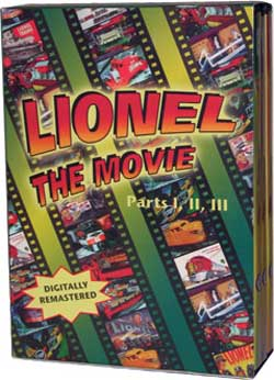Lionel The Movie Parts 1 2 3 Train Video TM Books and Video LMBOX 780484535693