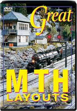 Great MTH Layouts Parts 1 and 2 Train Video TM Books and Video MTHDVD 780484635591