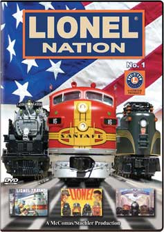 Lionel Nation No. 1 DVD TM Books and Video NATION 780484635669