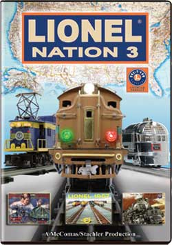 Lionel Nation No. 3 DVD Train Video TM Books and Video NATION3 780484635775
